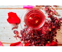 Красный чай каркадэ