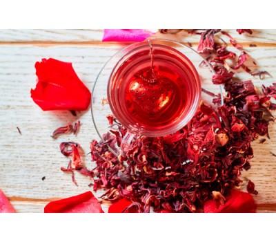 Красный чай каркадэ в Киеве